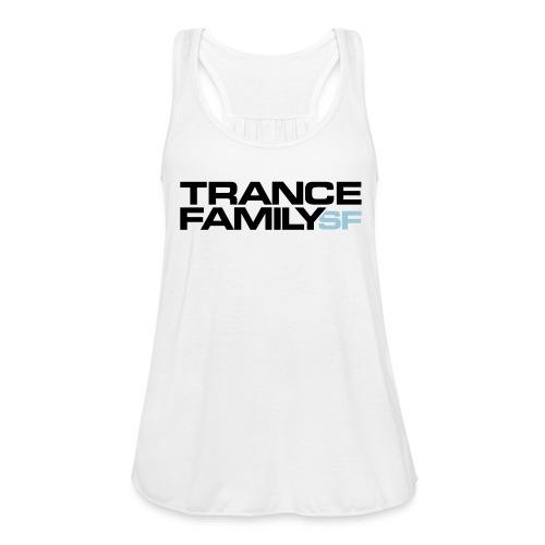 TFSF_Color White - Women's Flowy Tank Top by Bella