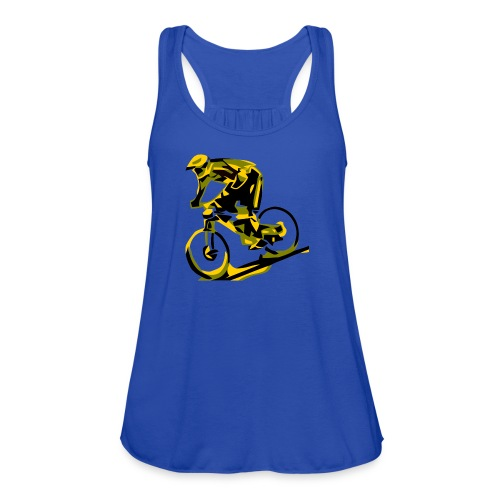 DH Freak - Mountain Bike Hoodie - Women's Flowy Tank Top by Bella