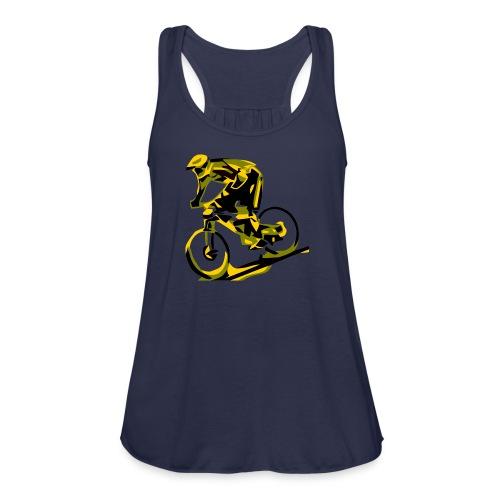 DH Freak - Mountain Bike Hoodie - Women's Flowy Tank Top by Bella