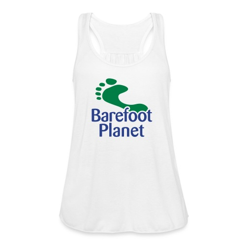 I Run Better, I Run Barefoot Women's T-Shirts - Women's Flowy Tank Top by Bella