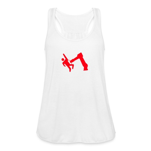 Robot Wins - Women's Flowy Tank Top by Bella