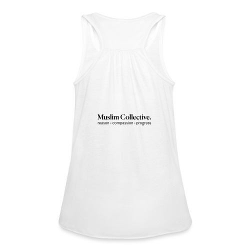 Muslim Collective Logo + tagline - Women's Flowy Tank Top by Bella