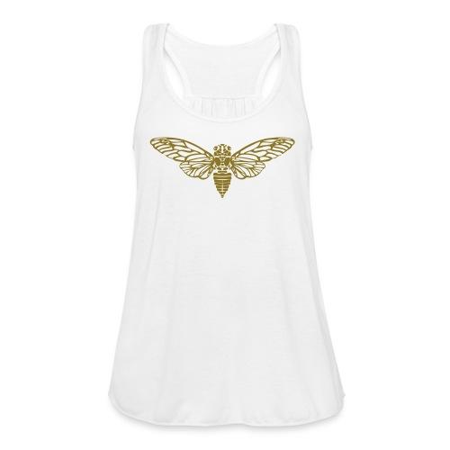 Cicada - Women's Flowy Tank Top by Bella