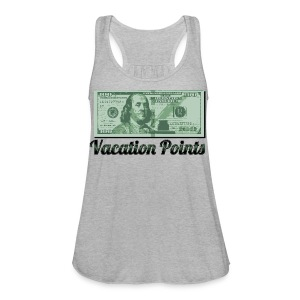 Vacation Points - Women's Flowy Tank Top by Bella