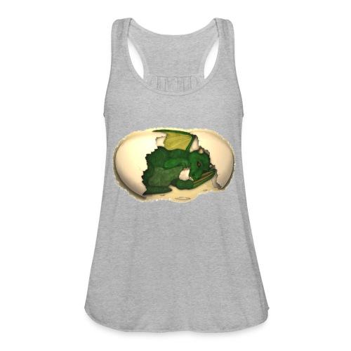 The Emerald Dragon of Nital - Women's Flowy Tank Top by Bella