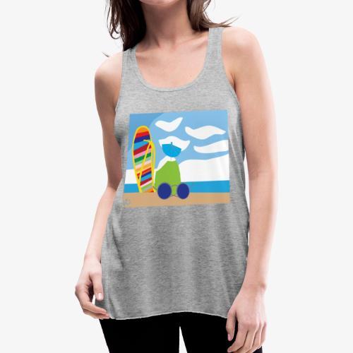 Fun in the Sand - Women's Flowy Tank Top by Bella