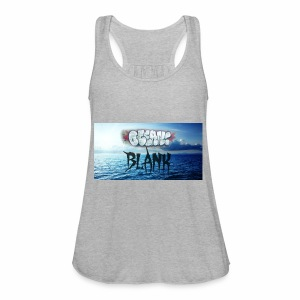 Ocean Blank Cloud - Women's Flowy Tank Top by Bella