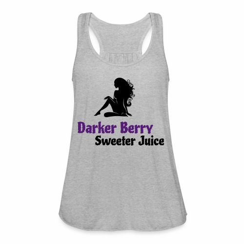 Darker Berry Sexy V - Women's Flowy Tank Top by Bella