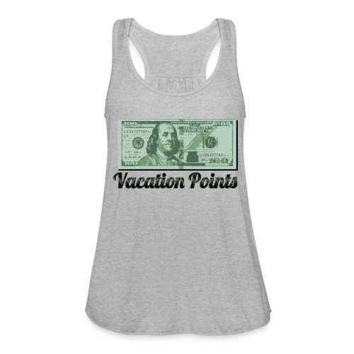 Vacation Points - Women's Flowy Tank Top by Bella