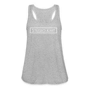 Studio Knit Logo Shirt - Women's Flowy Tank Top by Bella