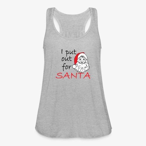 santa - Women's Flowy Tank Top by Bella