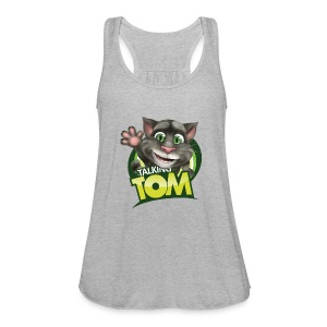 Talking_TOM_wave_preview_lowRes - Women's Flowy Tank Top by Bella
