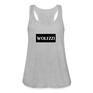 wolfzzishirtlogo - Women's Flowy Tank Top by Bella