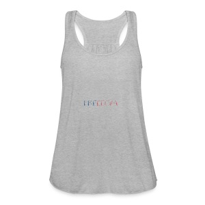 Freedom - Women's Flowy Tank Top by Bella