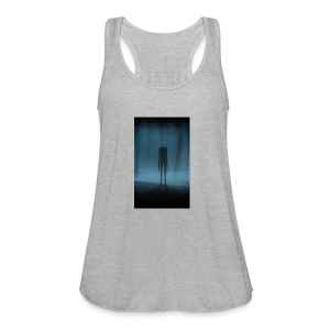 Creepy Forest Person - Women's Flowy Tank Top by Bella