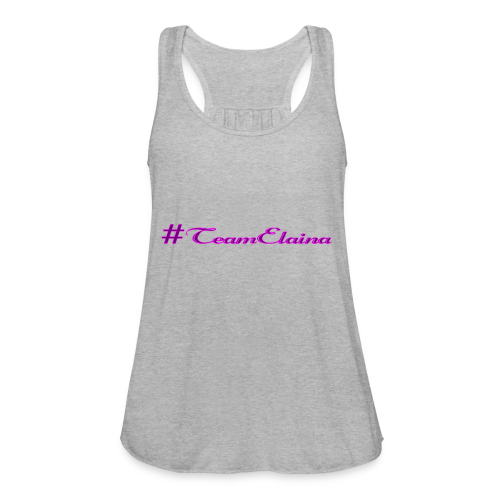 #TeamElaina - Women's Flowy Tank Top by Bella