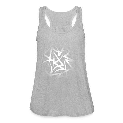 designcrowd t shirt back1 printready 300dpi - Women's Flowy Tank Top by Bella