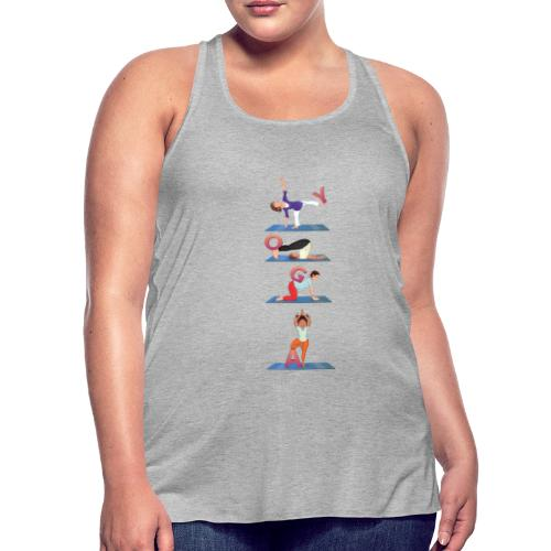 Yoga For Women - Women's Flowy Tank Top by Bella