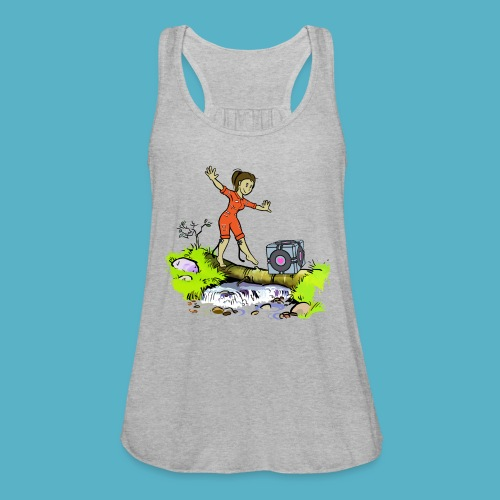 Testing Everywhere! - Women's Flowy Tank Top by Bella
