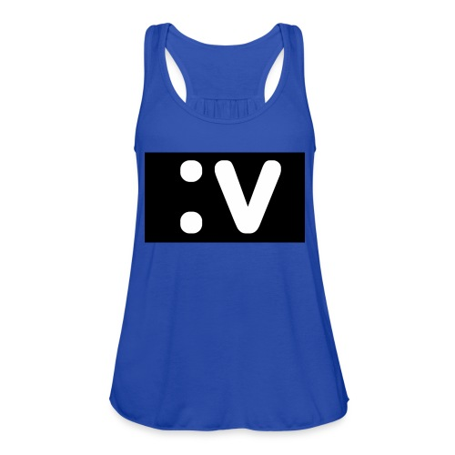 LBV side face Merch - Women's Flowy Tank Top by Bella