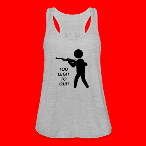 OxyGang: Too Legit To Quit Products - Women's Flowy Tank Top by Bella