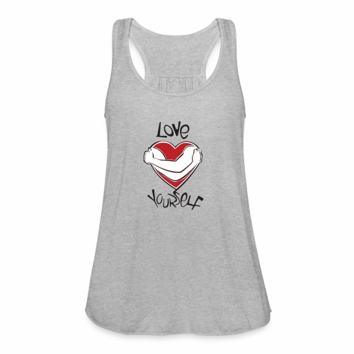 LOVE YOURSELF - Women's Flowy Tank Top by Bella
