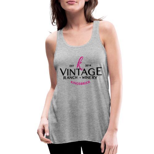 Kingsbrier Vintage 2014 - Women's Flowy Tank Top by Bella