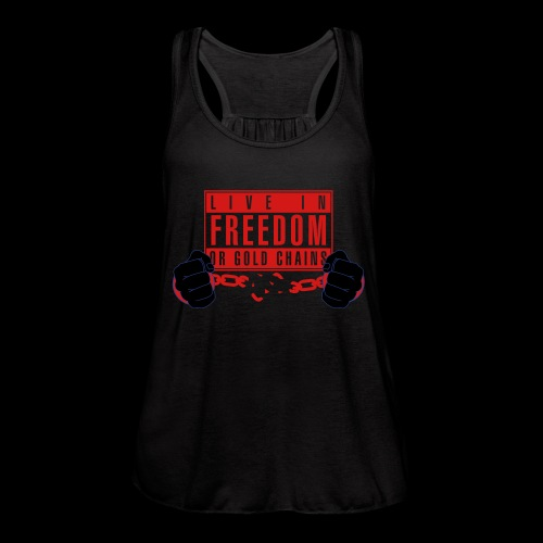 Live Free - Women's Flowy Tank Top by Bella