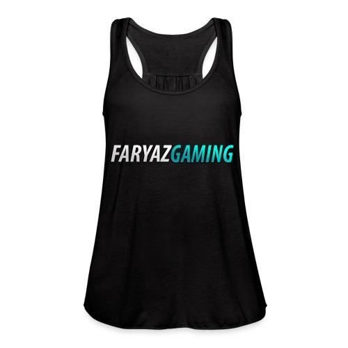 FaryazGaming Theme Text - Women's Flowy Tank Top by Bella