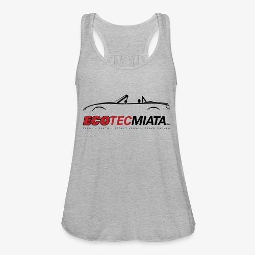 Ecotec Miata Logo - Women's Flowy Tank Top by Bella