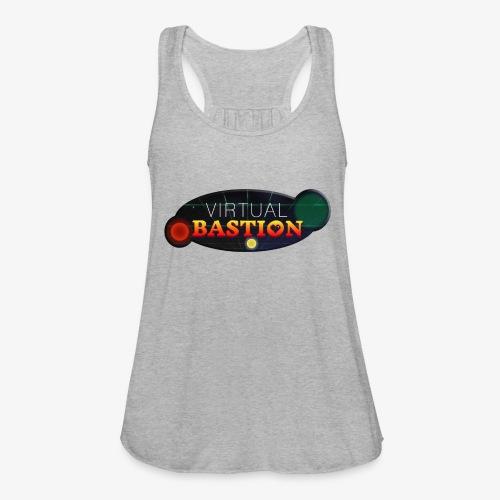 Virtual Bastion: Space Logo - Women's Flowy Tank Top by Bella