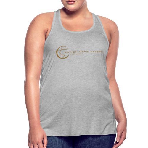 AMMT Logo Modern Look - Women's Flowy Tank Top by Bella