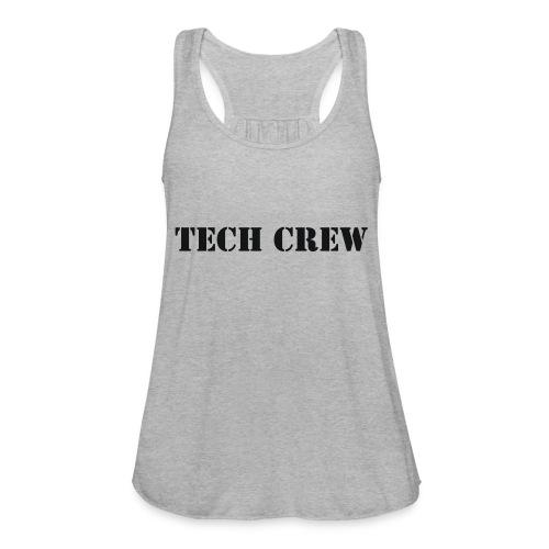 Tech Crew - Women's Flowy Tank Top by Bella