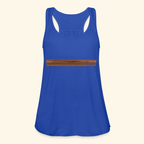 wood2600 - Women's Flowy Tank Top by Bella