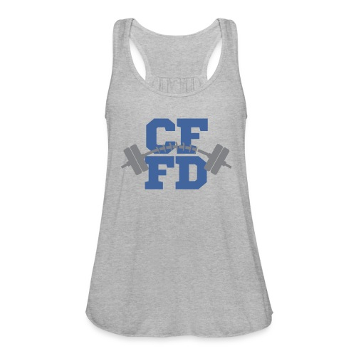 CFFD Barbell - Women's Flowy Tank Top by Bella