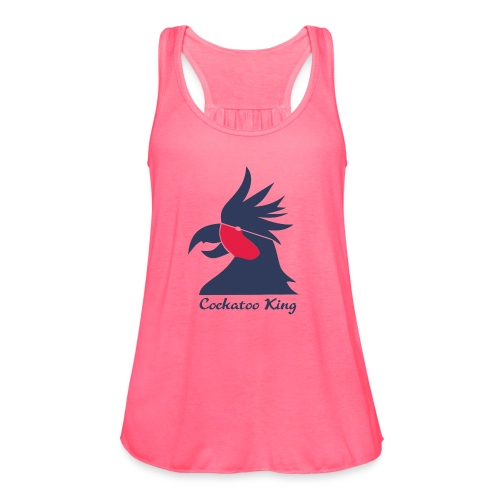 Cockatoo Logo - Women's Flowy Tank Top by Bella