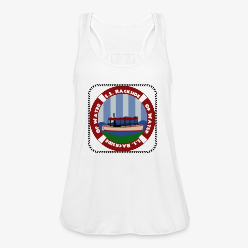 Our New Center Patch - Women's Flowy Tank Top by Bella