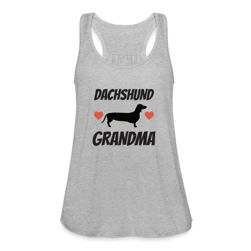 Dachshund Grandma - Women's Flowy Tank Top by Bella