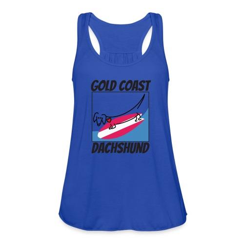 Gold Coast Dachshund - Women's Flowy Tank Top by Bella