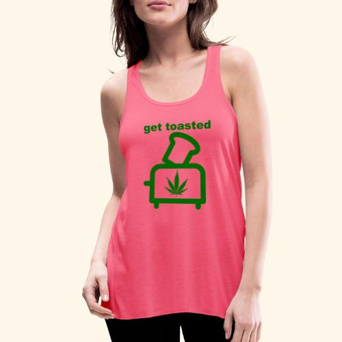 GET TOASTED - Women's Flowy Tank Top by Bella