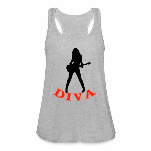Rock Star Diva - Women's Flowy Tank Top by Bella