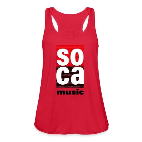 Soca music - Women's Flowy Tank Top by Bella