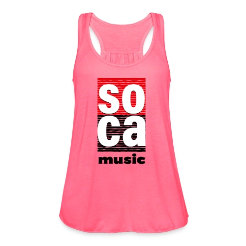 Soca music - Women's Flowy Tank Top by Bella