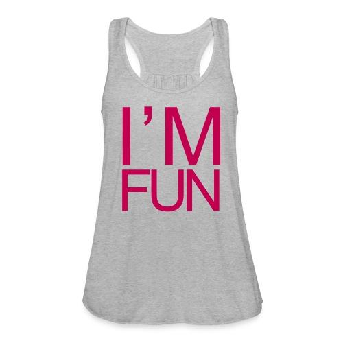 im fun2 - Women's Flowy Tank Top by Bella