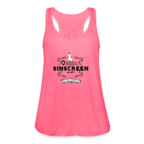 O'Riginal's Sinscreen - Women's Flowy Tank Top by Bella