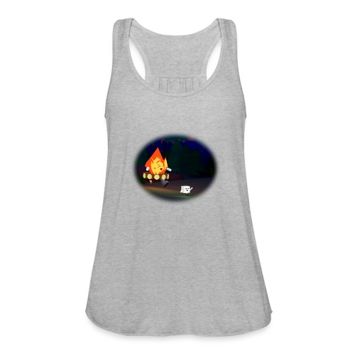'Round the Campfire - Women's Flowy Tank Top by Bella