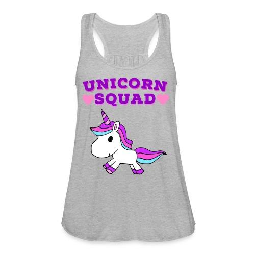 Unicorn Squad! - Women's Flowy Tank Top by Bella