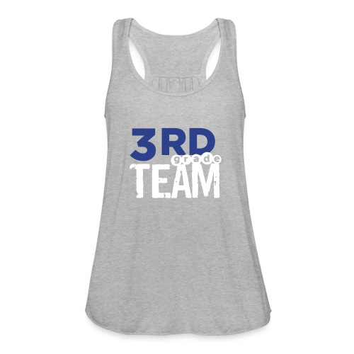 Bold 3rd Grade Team Teacher T-Shirts - Women's Flowy Tank Top by Bella
