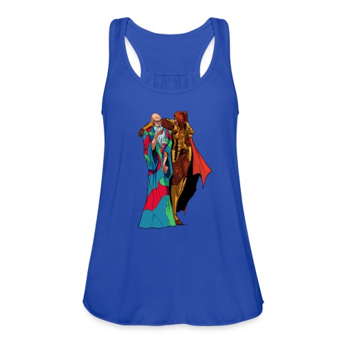anjelicaPRO png - Women's Flowy Tank Top by Bella