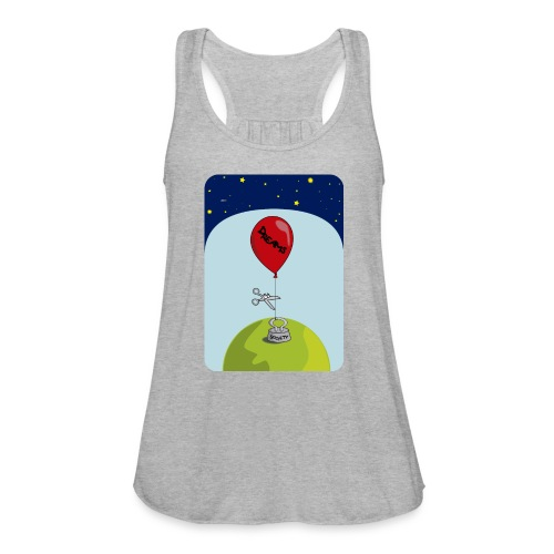 dreams balloon and society 2018 - Women's Flowy Tank Top by Bella